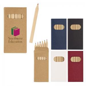 6 Piece Colored Pencil Set Box