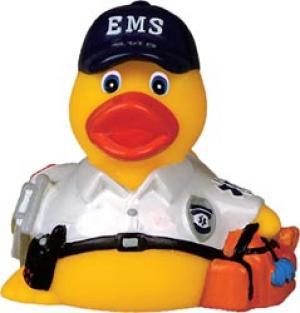 EMS Ambulance Rubber Duck