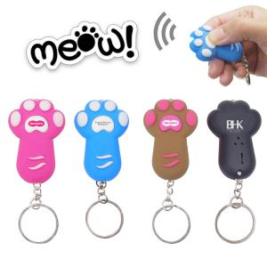 Cat Paw LED Light And Sound Keychain