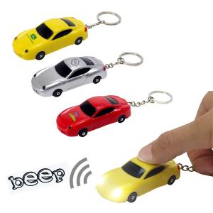Sports Car LED Light and Sound Keychain
