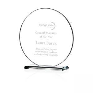 Round Gem Cut Award - Small