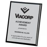 8x10 Connection Plaque - Black