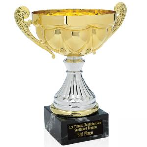 """Scalloped Trophy - 8"""""""