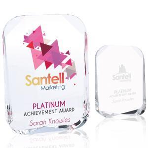 Beveled Corners Award - Medium