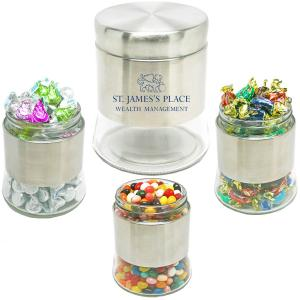Executive Stainless Steel Candy Jar
