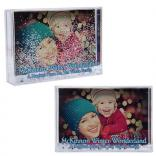 "4"" x 6""Snow Globe Photo Frame"