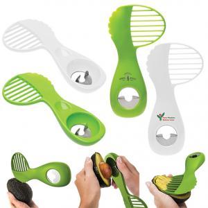 3-in-1 Plastic Avocado Tool