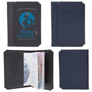 Stylish Leatherette Passport Cover