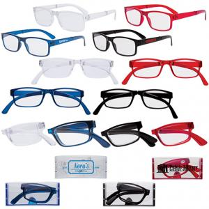 Folding Reading Glasses w/ Protective Case