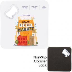Handy Coaster w/ Bottle Opener
