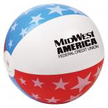"16"" Patriotic USA Beach Ball"
