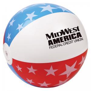 "16"" Patriotic USA Beach Ball"