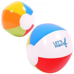 "6"" Multi Colored Beach ball"