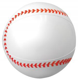"""9"""" Baseball Sport Beach Ball"""