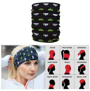 Multi Function Full Color Head Scarf