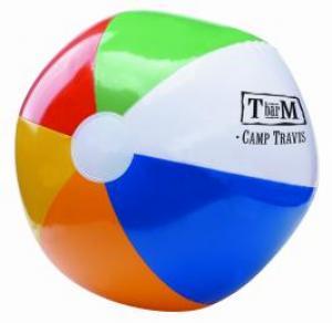 """16"""" Six Color Beach Ball"""
