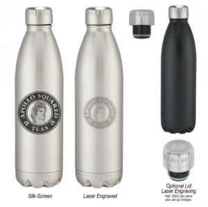 26 Oz. Vacuum Sealed Stainless Steel Bottle