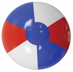 """16"""" Red, White & Blue Beach Ball"""