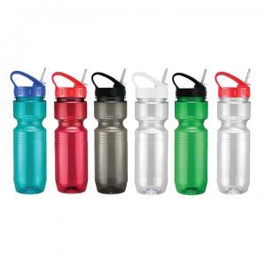 26oz Translucent Jogger Sport Tip Lid Bottle