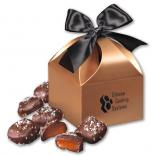 Chocolate Sea Salt Caramels in Classic Treats Gift Box