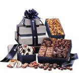 Tower of Sweets Navy Gift Set