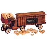1930-Era Tractor-Trailer Truck with Extra Fancy Jumbo Cashews