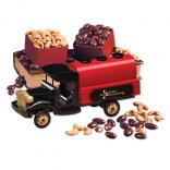 1920-Era Tank Truck with Chocolate Almonds & Extra Fancy Jumbo Cashews