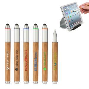 Bamboo Stylus Ballpoint Pen