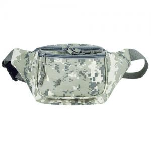 Digital Camouflage  3-Zipper Fanny Pack