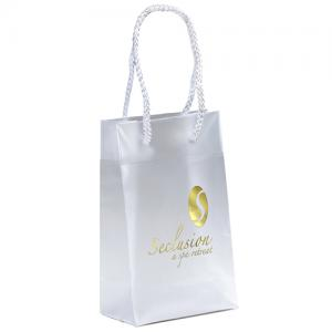 """5"""" x 3"""" x 8"""" Executive Frosted Eurotote Bags"""