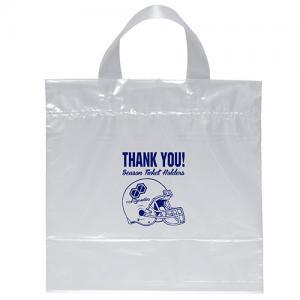 """12"""" x 12"""" x 6"""" Soft Loop Classic Plastic Bags"""