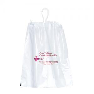 "9.5"" x 12"" Cotton Drawstring Plastic Bags"