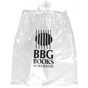 """15"""" x 19"""" x 3"""" Poly Drawstring Plastic Bags"""