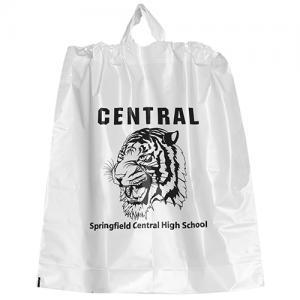 """18"""" x 20"""" x 4"""" Poly Drawstring Plastic Bags"""