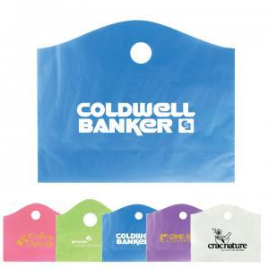 "22"" x 18"" x 8"" Die Cut Crescent Frost Logo Bags"