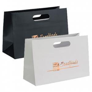 """12"""" x 5"""" x 8"""" Glamour Die-Cut Shopper Bags"""