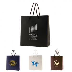 """6"""" x 3.5"""" x 6.5"""" Color Matte Laminated Paper Bags"""