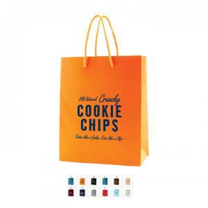 """8"""" x 4"""" x 10"""" Color Matte Laminated Paper Bags"""