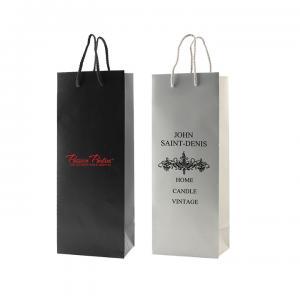 """5"""" x 3.5"""" x 13"""" Color Matte Laminated Paper Bags"""