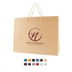 """13"""" x 5"""" x 10"""" Color Matte Laminated Paper Bags"""