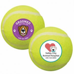 Full Color Pet Tennis Balls