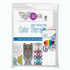 Full Color Decal Color Therapy Adult Coloring Pack
