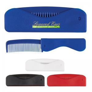 Compact Stay-Fab Folding Comb