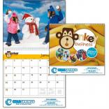 Monkey Business Wall Calendar