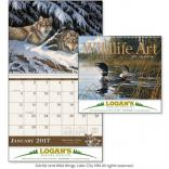 Wildlife Art Wall Calendar