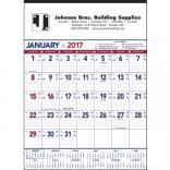 Patriotic Contractor Memo 13-Sheet Wall Calendar