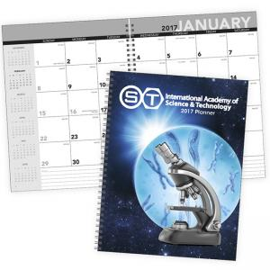 Standard Year Desk Planner with Custom Cover Calendar