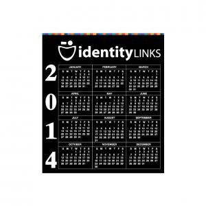 BIC 20 Mil Small Calendar Magnet
