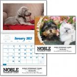 Puppies & Kittens Pocket Calendar