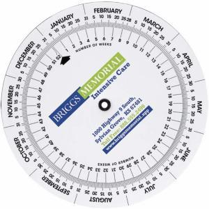 Weekly Swivel Calculator Calendar